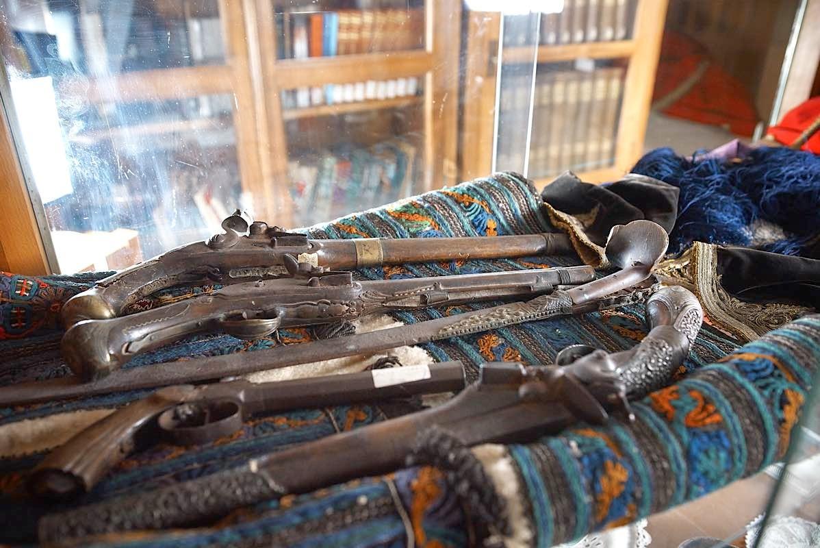 Αρχαιολογική Συλλογή της Βιβλιοθήκης στη Δημητσάνα.