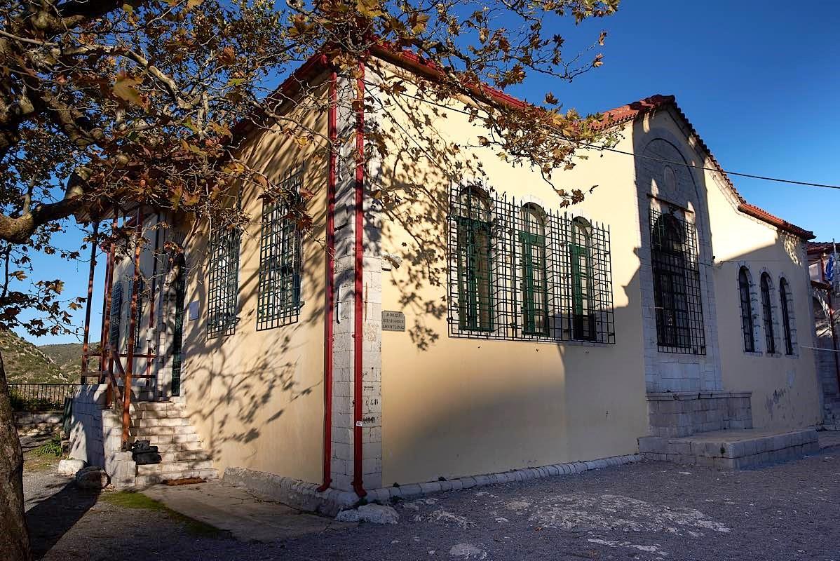 Ιστορική η βιβλιοθήκη της Δημητσάνας.