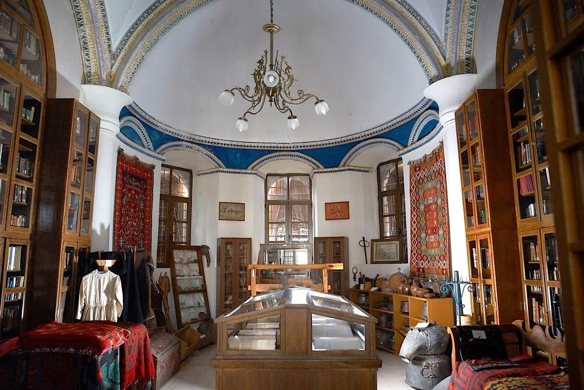 Από τη βιβλιοθήκη της Δημητσάνας έπαιρναν τα βιβλία για τα φυσίγγια τους οι ήρωες του '21