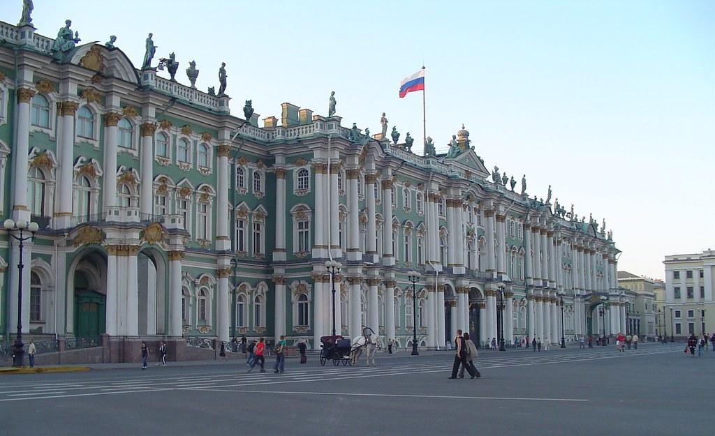 Μουσείο Ερμιτάζ στην Αγία Πετρούπολη της Ρωσίας