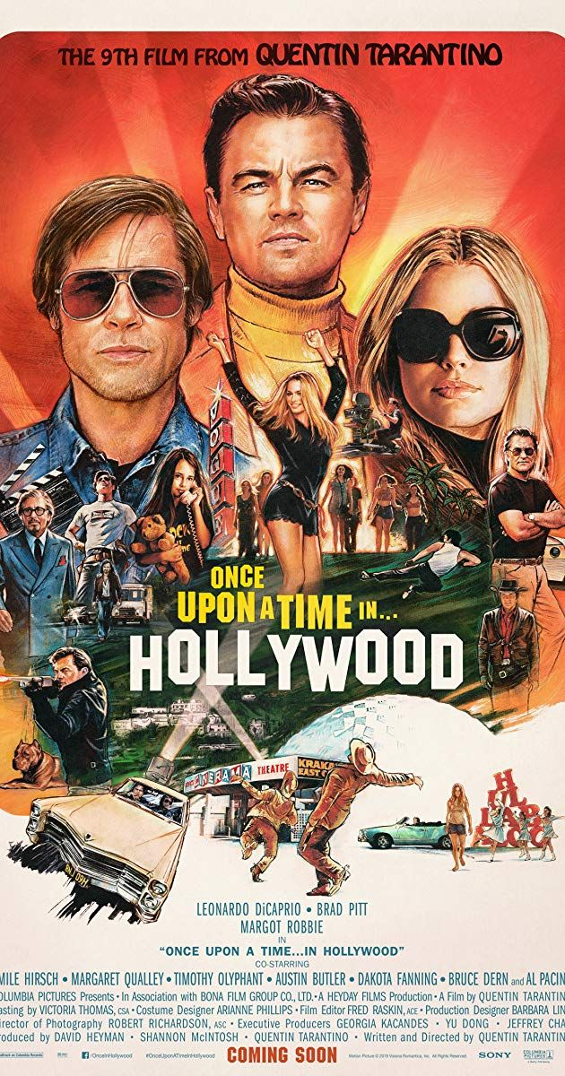 once upon a time in hollywood Poster Movie