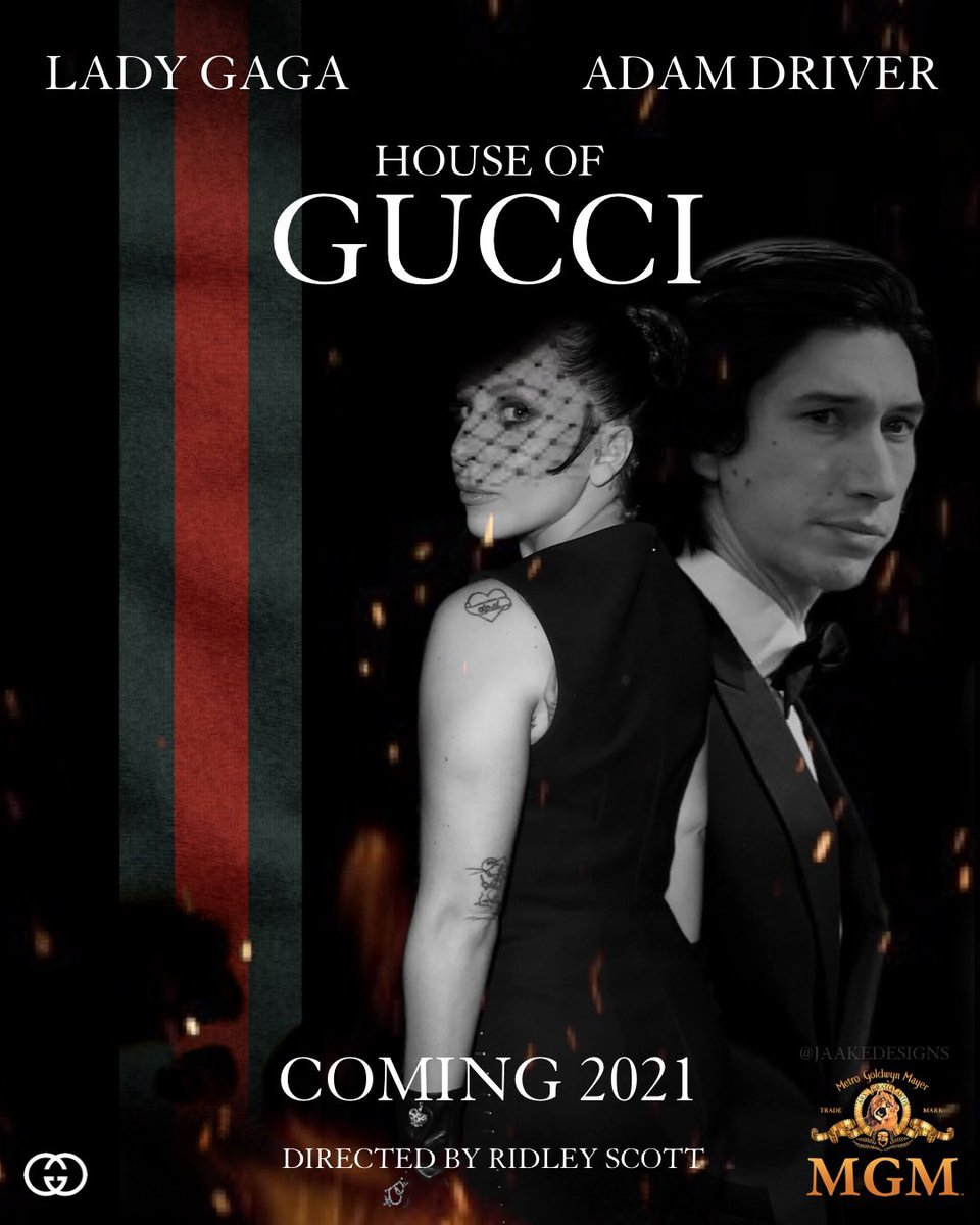 house of gucci poster movie