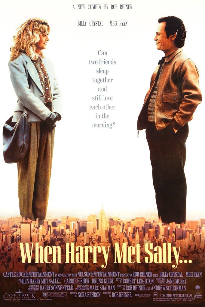 when harry met sally poster movie
