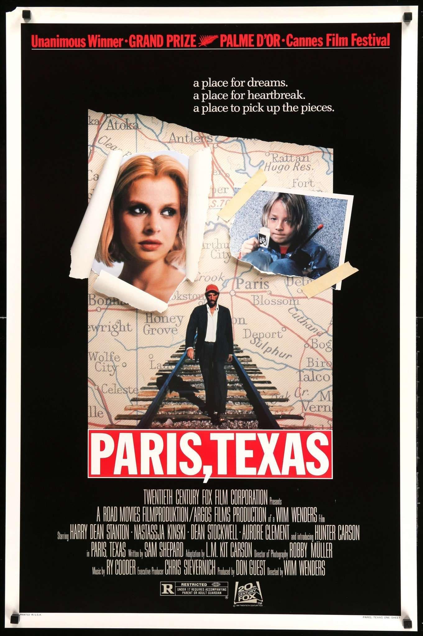 Paris Texas Poster Movie