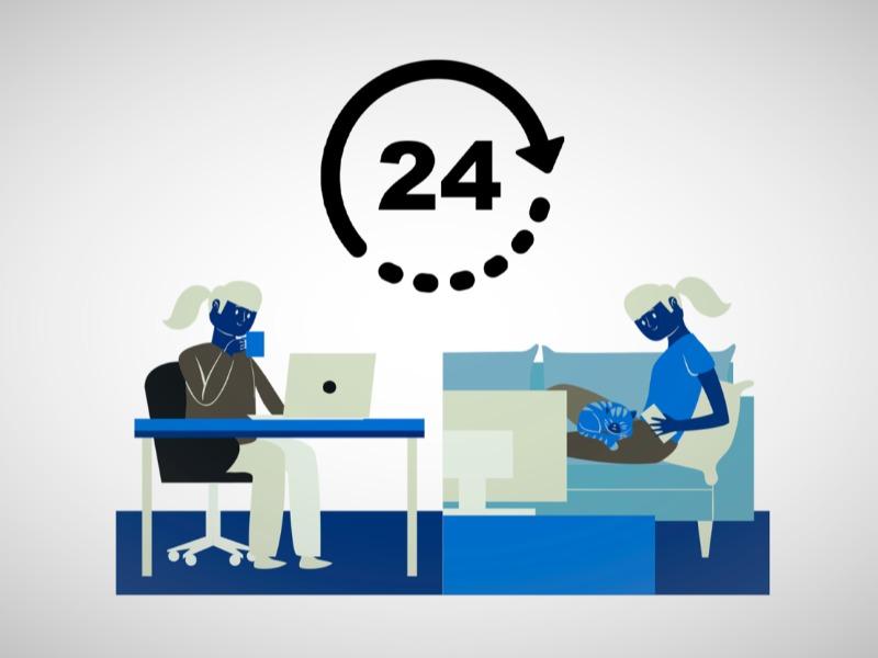 Η τηλεργασία, ενώ αρχικά έδειχνε να διευκολύνει εργαζόμενους και επιχειρήσεις, τείνει να μετατραπεί σε γόρδιο δεσμό
