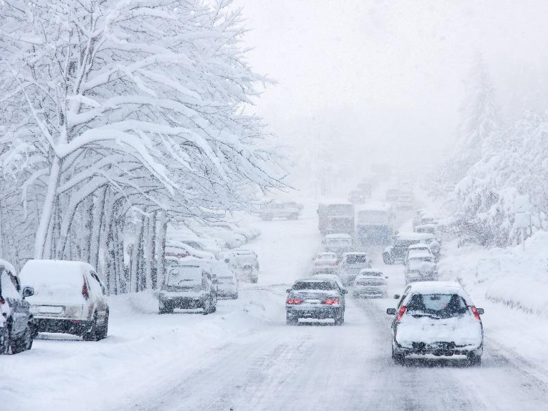 χιόνια και παγετός ακραία καιρικά φαινόμενα