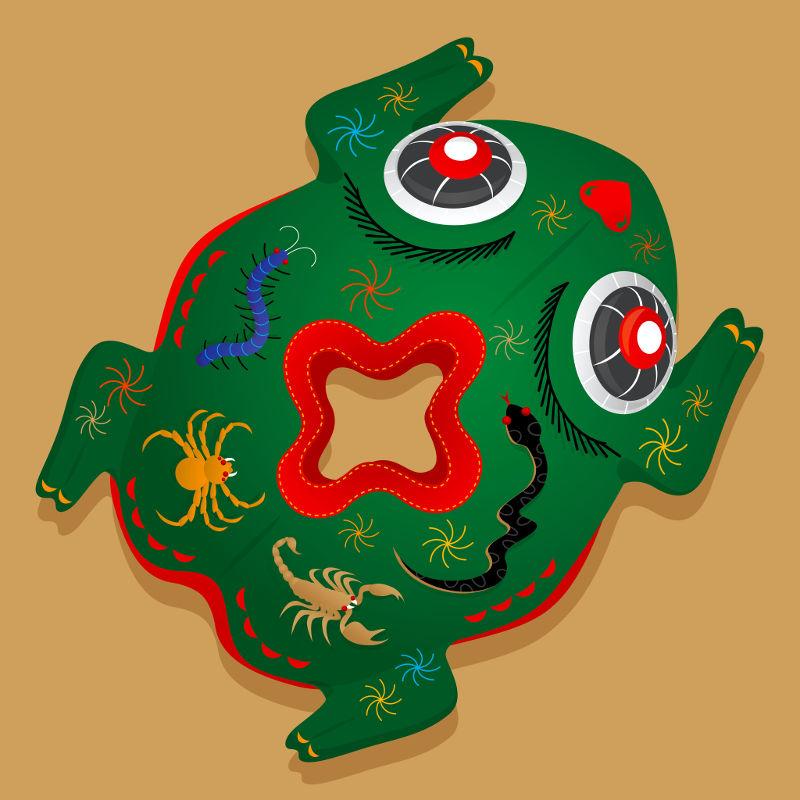 greek frog