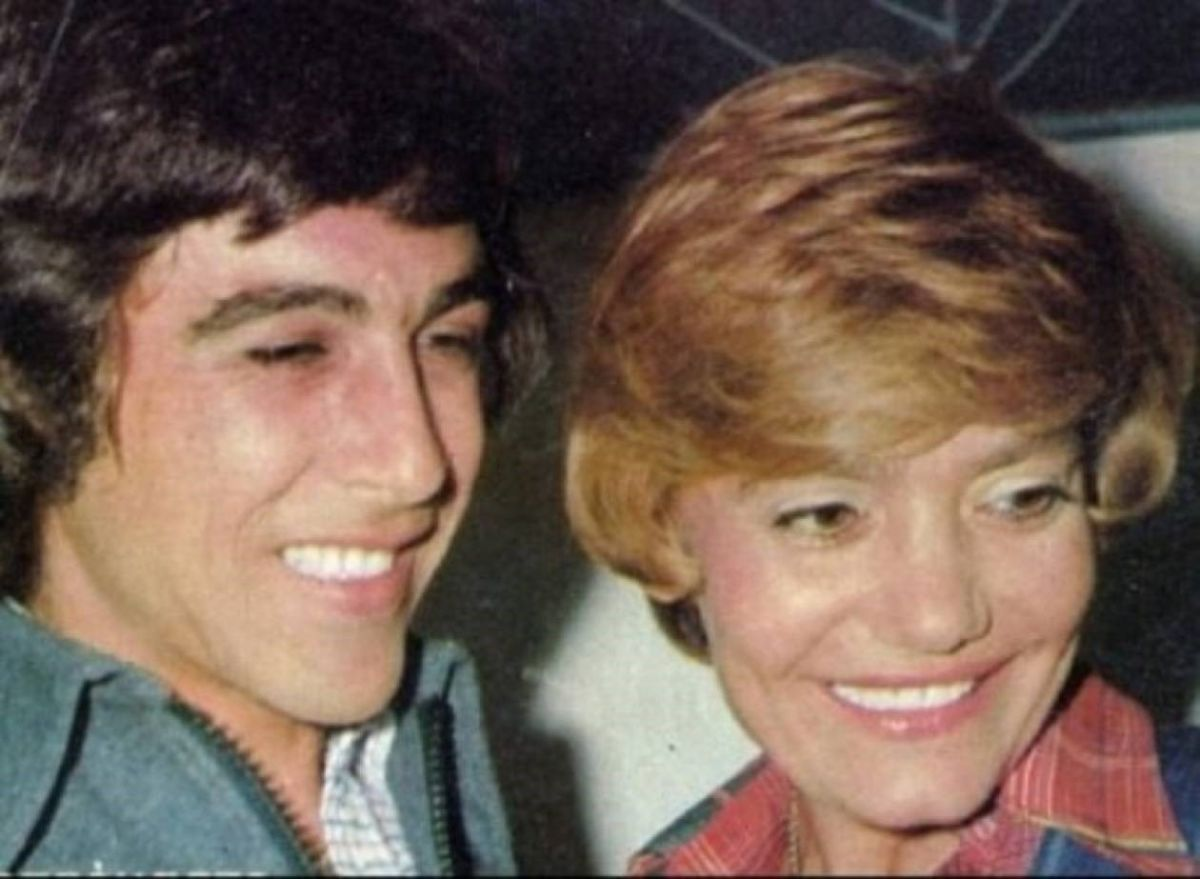 Ο Τόλης Βοσκόπουλος και η Μαρινέλλα.