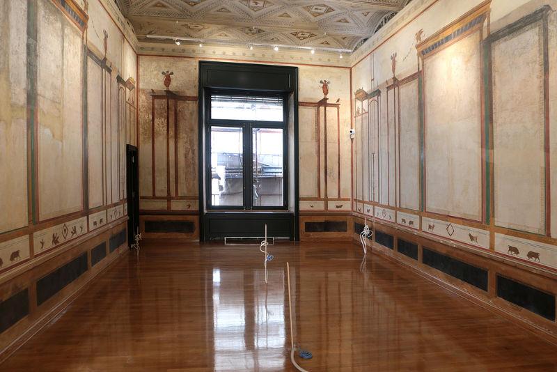 Αίθουσα στο Μέγαρο Τσίλλερ-Λοβέρδου εν Αθήναι