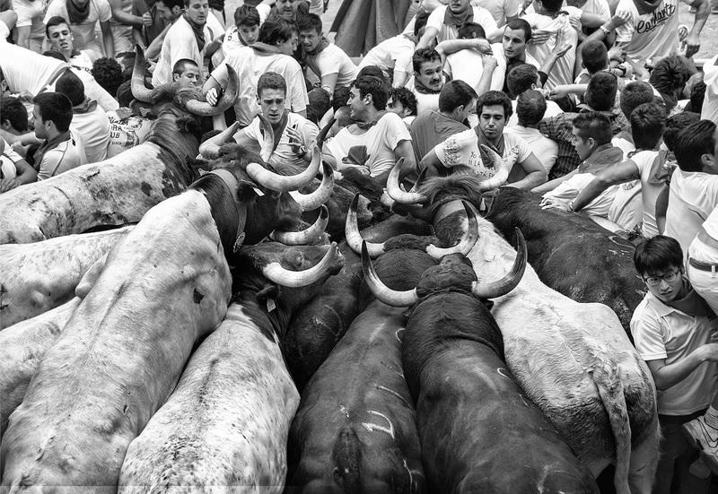 travel photographer 2020: άνθρωποι και ταύροι