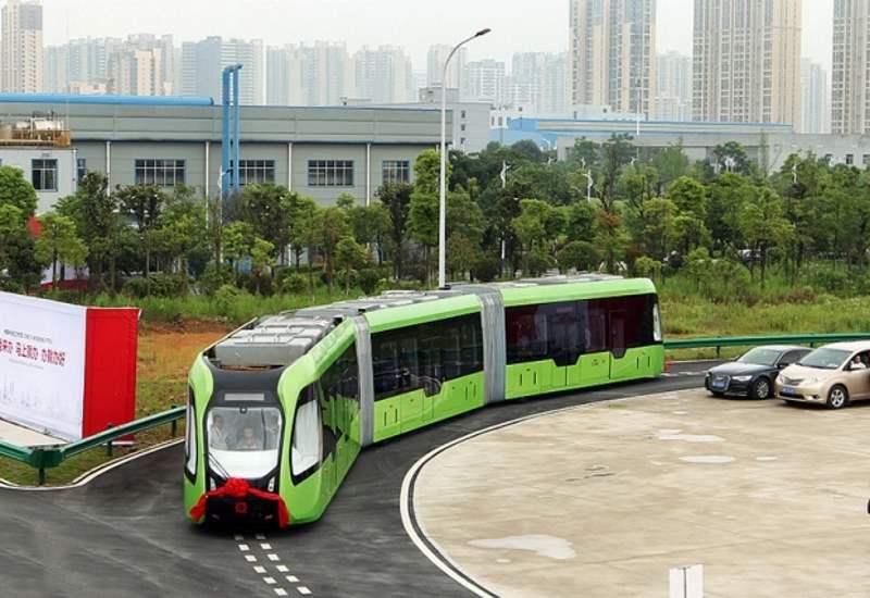 Τρένο χωρίς… ράγες ετοιμάζουν οι Κινέζοι