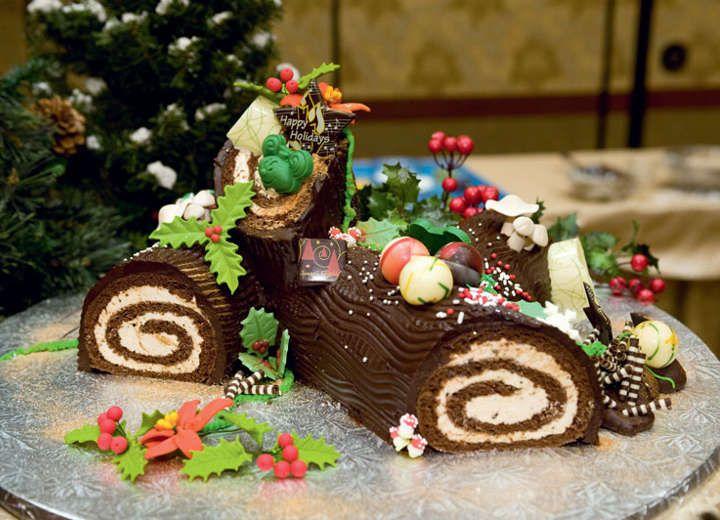 Χριστουγεννιάτικος κορμός