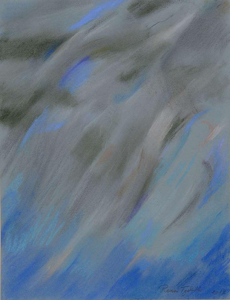 «Υ δ ρ α τ ο γ ρ α φ ί ε ς»: Έκθεση ζωγραφικής της Ρένας Τζολάκη